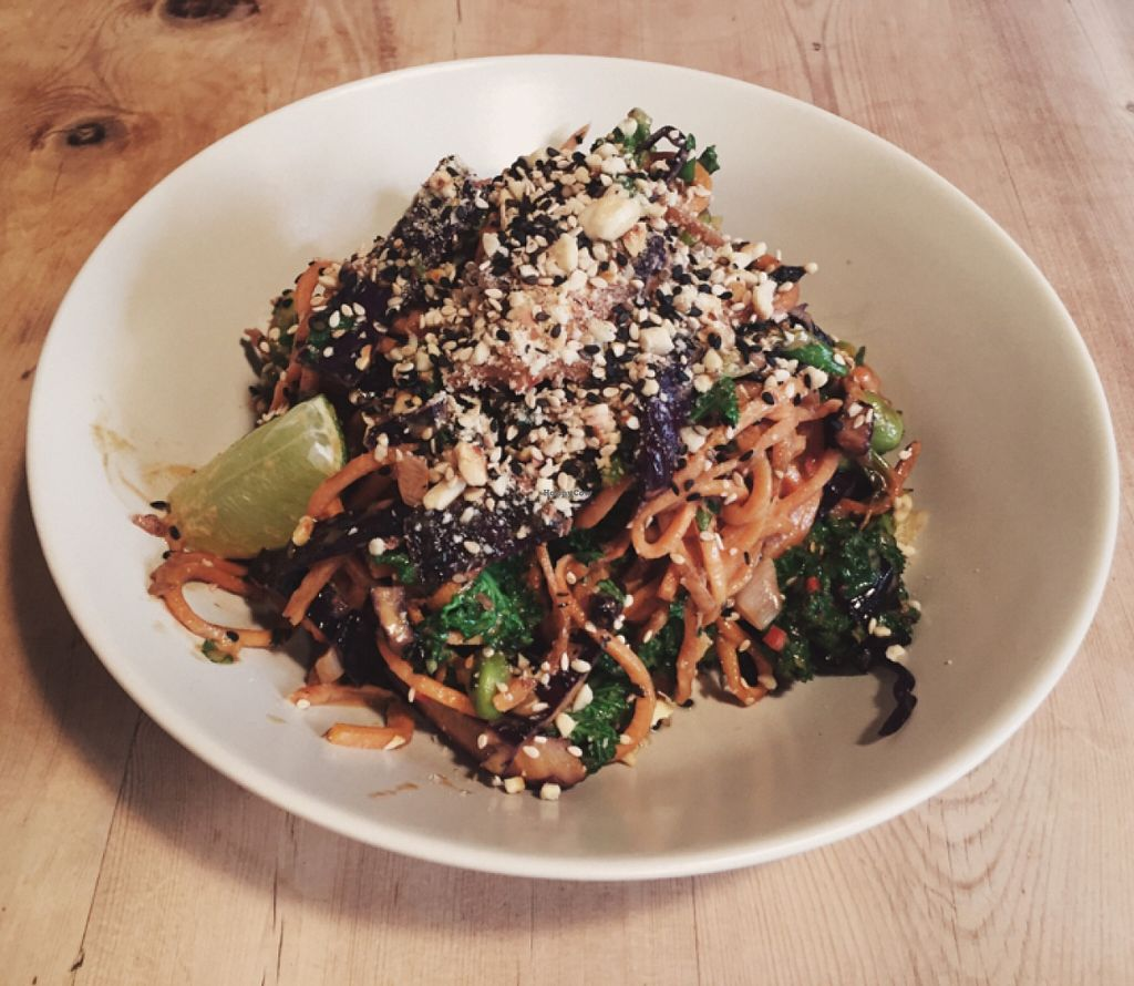 """Photo of Offbeet Food  by <a href=""""/members/profile/Atticjnr"""">Atticjnr</a> <br/>Sweet Potato Satay Spoodle!  <br/> March 18, 2016  - <a href='/contact/abuse/image/55388/140391'>Report</a>"""