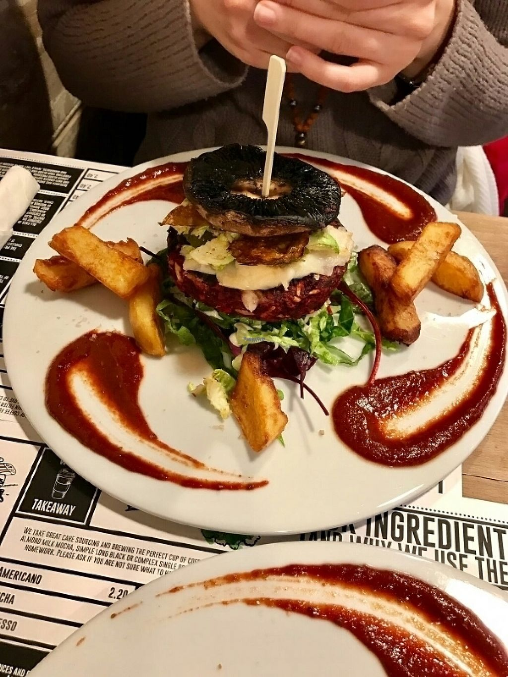 """Photo of Offbeet Food  by <a href=""""/members/profile/Skvivel"""">Skvivel</a> <br/>The beet burger :) <br/> February 2, 2017  - <a href='/contact/abuse/image/55388/221363'>Report</a>"""