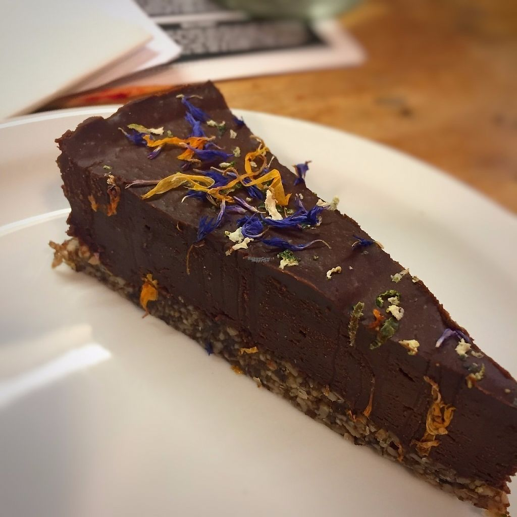 """Photo of Offbeet Food  by <a href=""""/members/profile/stephenwelleruk"""">stephenwelleruk</a> <br/>Chocolate, Lime & Avocado cheesecake. Gorgeous! <br/> April 18, 2017  - <a href='/contact/abuse/image/55388/249688'>Report</a>"""