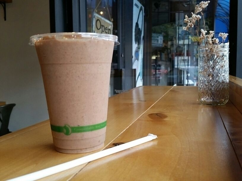 """Photo of City Press Juice  by <a href=""""/members/profile/eric"""">eric</a> <br/>Incan warrior smoothie <br/> October 1, 2016  - <a href='/contact/abuse/image/55397/179035'>Report</a>"""