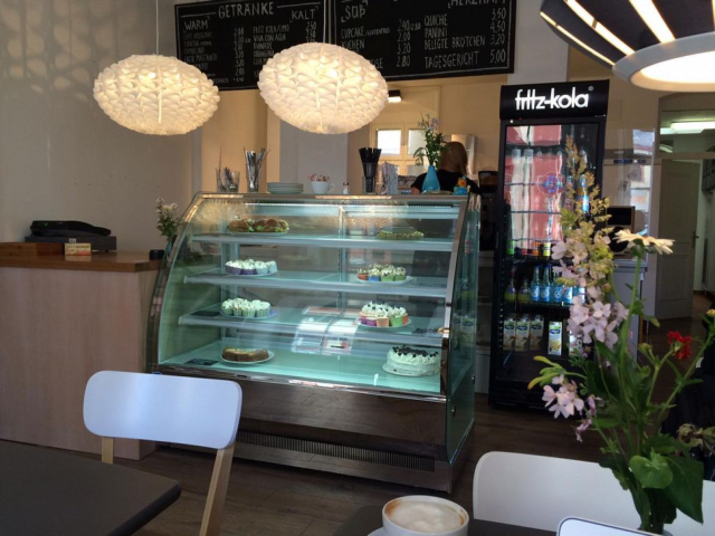 """Photo of Holy Kitchen  by <a href=""""/members/profile/Plantpower"""">Plantpower</a> <br/>very tasty food and interior design  <br/> May 19, 2015  - <a href='/contact/abuse/image/55404/102736'>Report</a>"""