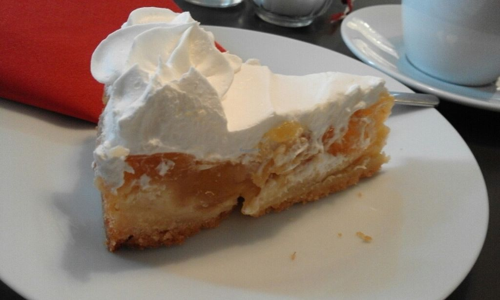 """Photo of Holy Kitchen  by <a href=""""/members/profile/v_mdj"""">v_mdj</a> <br/>apple pie with cream <br/> April 5, 2016  - <a href='/contact/abuse/image/55404/142938'>Report</a>"""