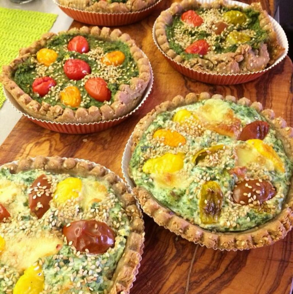 """Photo of CLOSED: Pepo's - Gelateria Naturale and Kitchen Lab  by <a href=""""/members/profile/IlCavalloFrisone"""">IlCavalloFrisone</a> <br/>vegan and vegetarian quiches  <br/> March 1, 2016  - <a href='/contact/abuse/image/55447/138340'>Report</a>"""