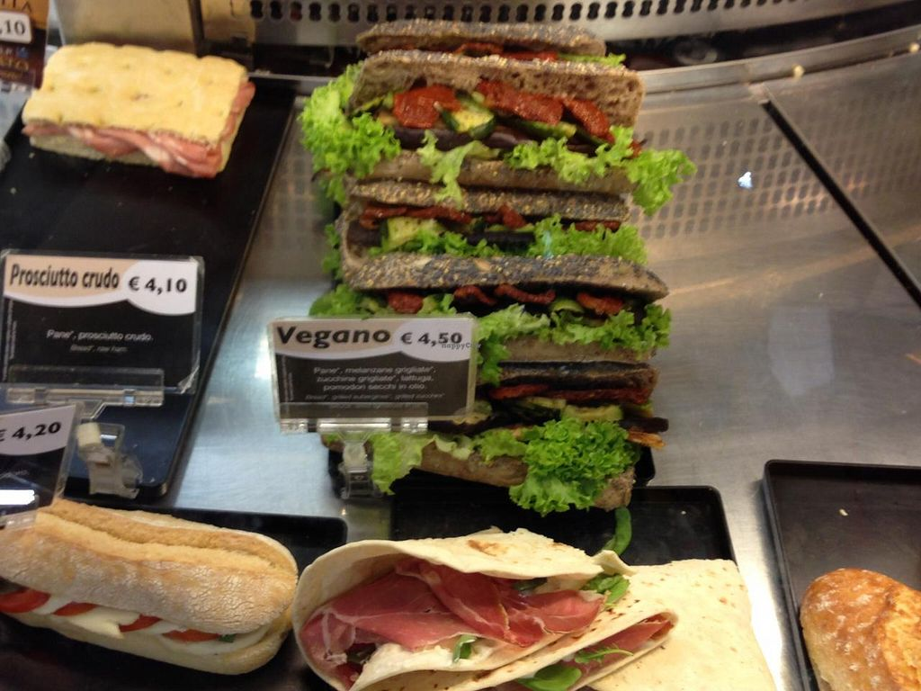"""Photo of Chef Express  by <a href=""""/members/profile/b3vegan"""">b3vegan</a> <br/>Vegano sandwich (surrounded by non-vegan sandwiches :( <br/> February 8, 2015  - <a href='/contact/abuse/image/55464/92557'>Report</a>"""