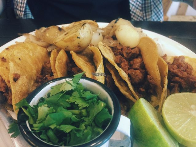 """Photo of Revolucion Verde  by <a href=""""/members/profile/EthanLuck"""">EthanLuck</a> <br/>Tacos <br/> October 1, 2016  - <a href='/contact/abuse/image/55484/179090'>Report</a>"""