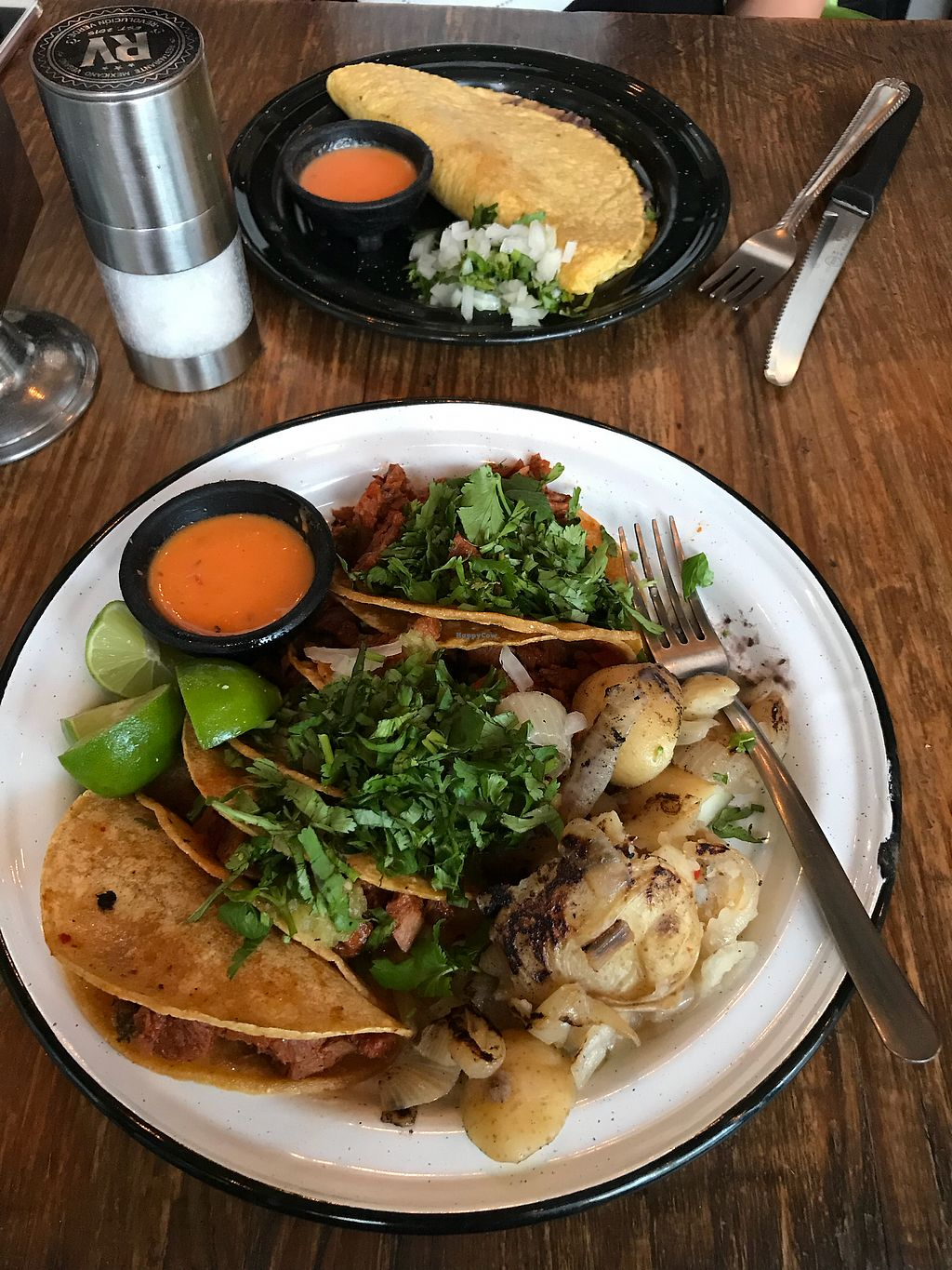 """Photo of Revolucion Verde  by <a href=""""/members/profile/humus_andi"""">humus_andi</a> <br/>Vegan Tacos <br/> March 4, 2018  - <a href='/contact/abuse/image/55484/366402'>Report</a>"""