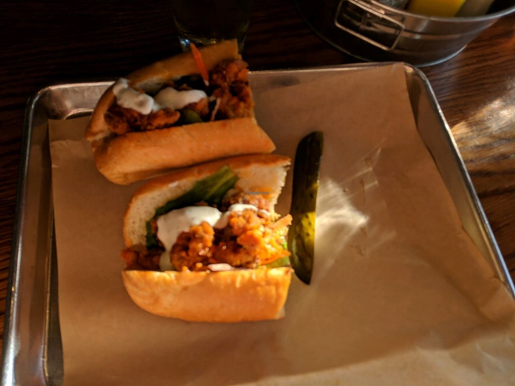 """Photo of Dory Deli  by <a href=""""/members/profile/AlexanderTaylor"""">AlexanderTaylor</a> <br/>vegan buffalo sandwhich <br/> December 29, 2017  - <a href='/contact/abuse/image/55499/340665'>Report</a>"""