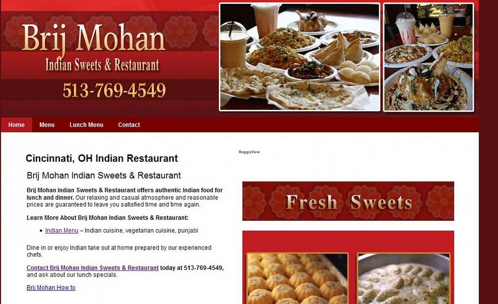 "Photo of Brij Mohan Indian Sweets and Restaurant  by <a href=""/members/profile/community"">community</a> <br/>Brij Mohan Indian Sweets and Restaurant <br/> February 8, 2015  - <a href='/contact/abuse/image/55508/92587'>Report</a>"