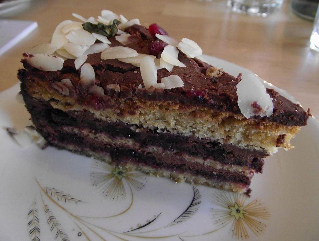 "Photo of Sunmoon Bakery - Shandor Petiofi  by <a href=""/members/profile/Joanna%20Karatsaneva"">Joanna Karatsaneva</a> <br/>Blueberry cake <br/> February 13, 2015  - <a href='/contact/abuse/image/55517/92941'>Report</a>"