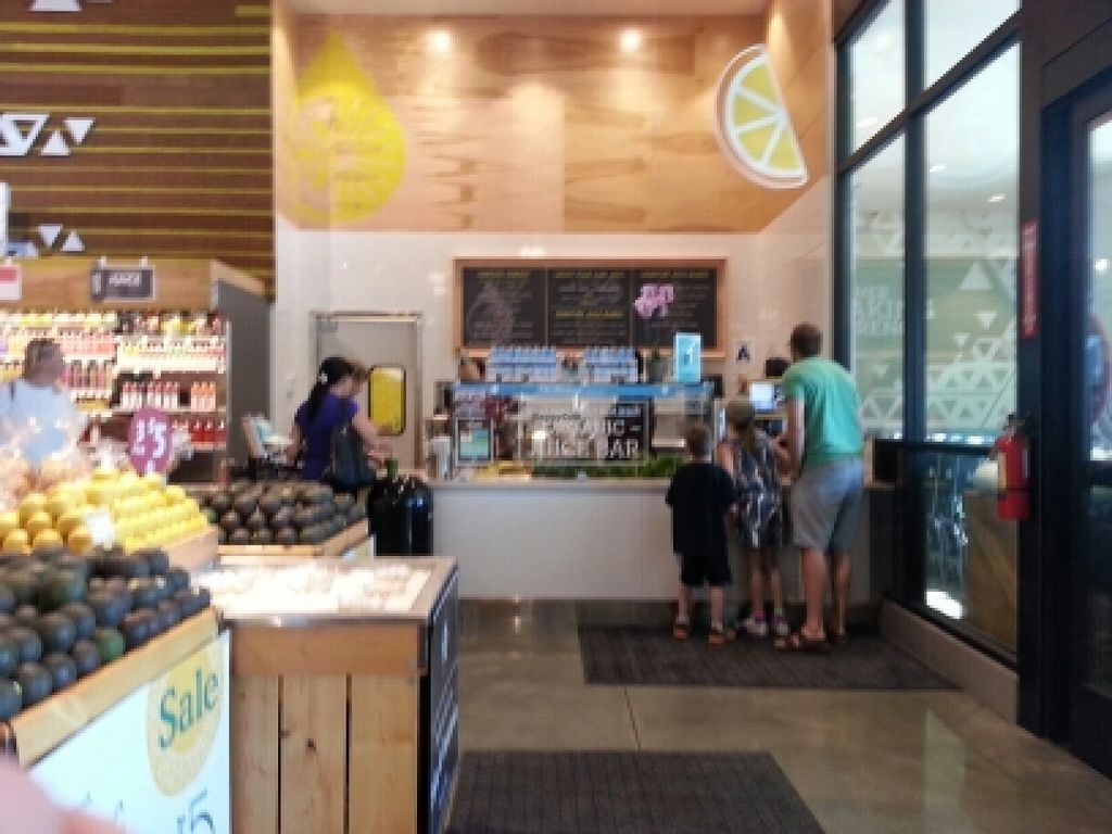 """Photo of Whole Foods Market  by <a href=""""/members/profile/eric"""">eric</a> <br/>juice bar <br/> March 26, 2016  - <a href='/contact/abuse/image/55528/141389'>Report</a>"""