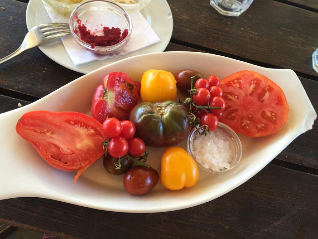 """Photo of La Huella  by <a href=""""/members/profile/cuckooworld"""">cuckooworld</a> <br/>antigue tomatoes <br/> February 9, 2015  - <a href='/contact/abuse/image/55529/92656'>Report</a>"""