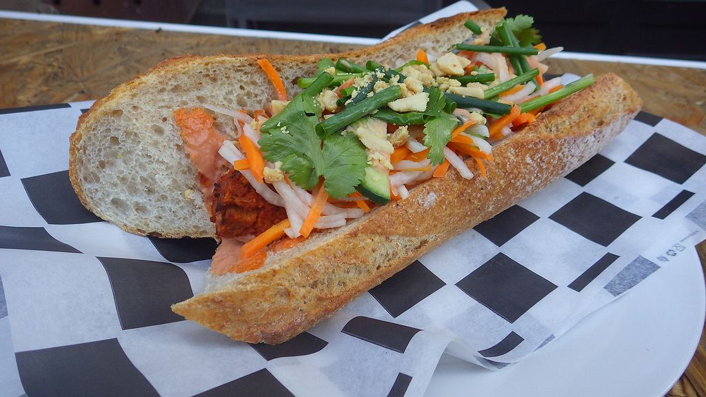 """Photo of Lokal Vegan Bistro  by <a href=""""/members/profile/deadpledge"""">deadpledge</a> <br/>Bánh mì <br/> August 11, 2017  - <a href='/contact/abuse/image/55545/291478'>Report</a>"""