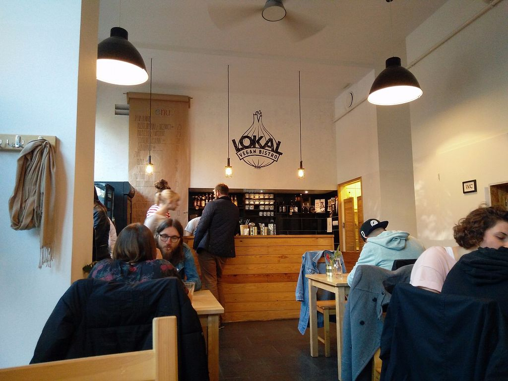 """Photo of Lokal Vegan Bistro  by <a href=""""/members/profile/martinicontomate"""">martinicontomate</a> <br/>inside <br/> October 7, 2017  - <a href='/contact/abuse/image/55545/312931'>Report</a>"""