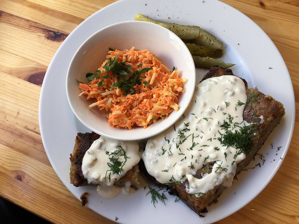 """Photo of Lokal Vegan Bistro  by <a href=""""/members/profile/FernandoMoreira"""">FernandoMoreira</a> <br/>""""fish and chips"""" <br/> December 26, 2017  - <a href='/contact/abuse/image/55545/339368'>Report</a>"""