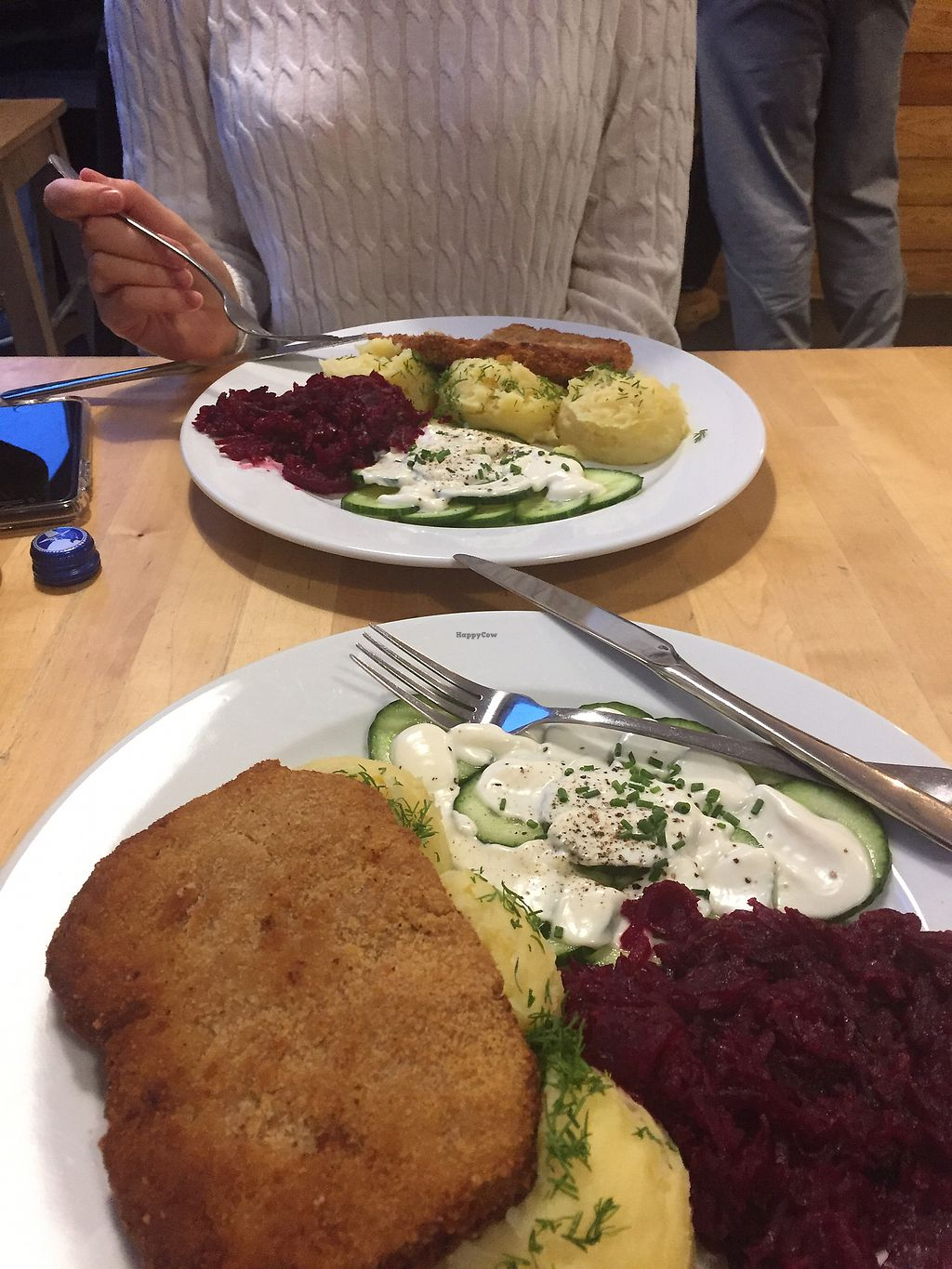 """Photo of Lokal Vegan Bistro  by <a href=""""/members/profile/ElkaMayaCoucou"""">ElkaMayaCoucou</a> <br/>zimowy schabowy <br/> January 31, 2018  - <a href='/contact/abuse/image/55545/353169'>Report</a>"""