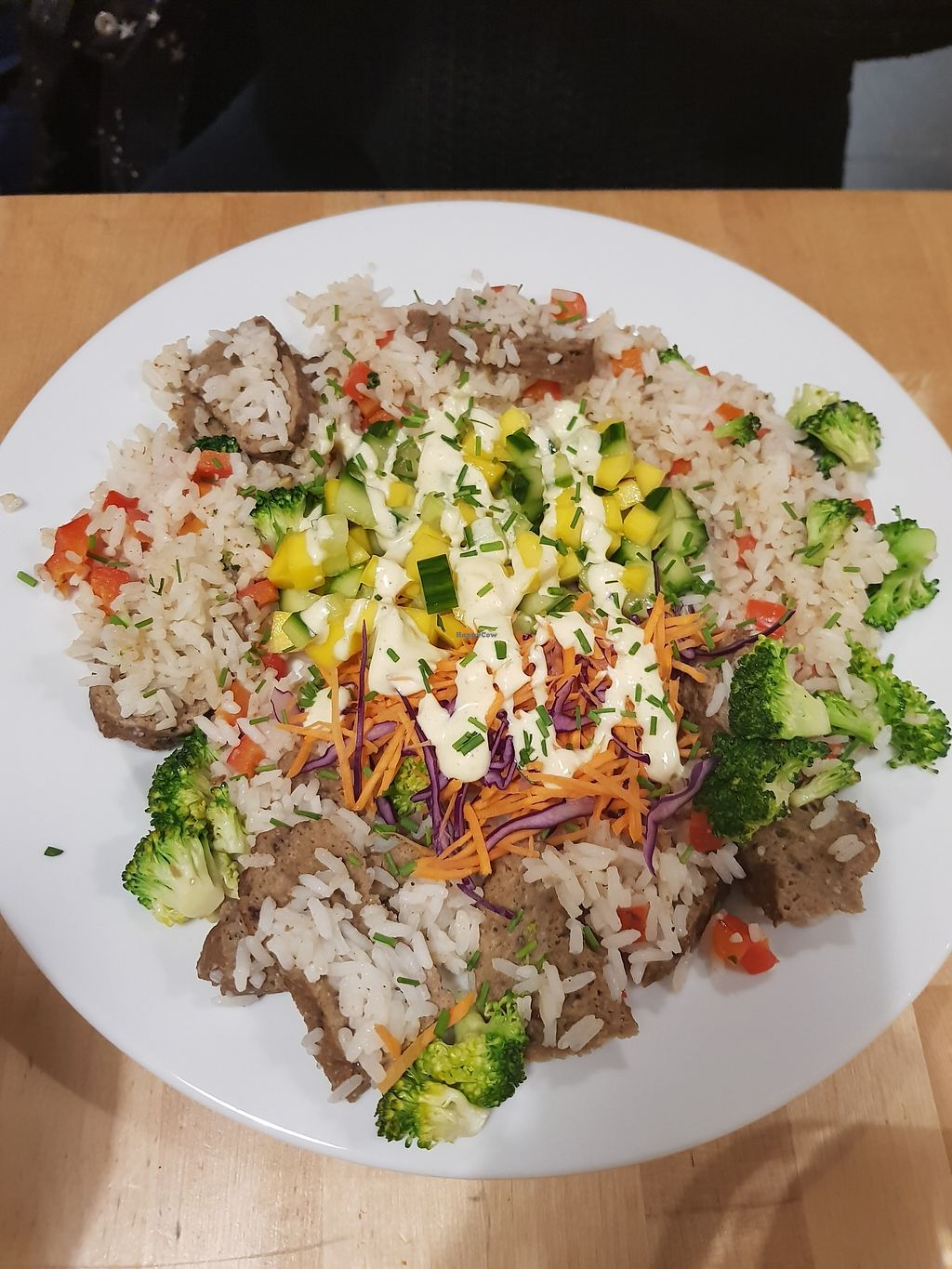 """Photo of Lokal Vegan Bistro  by <a href=""""/members/profile/Mirage"""">Mirage</a> <br/>Seitan jerk <br/> February 9, 2018  - <a href='/contact/abuse/image/55545/356703'>Report</a>"""