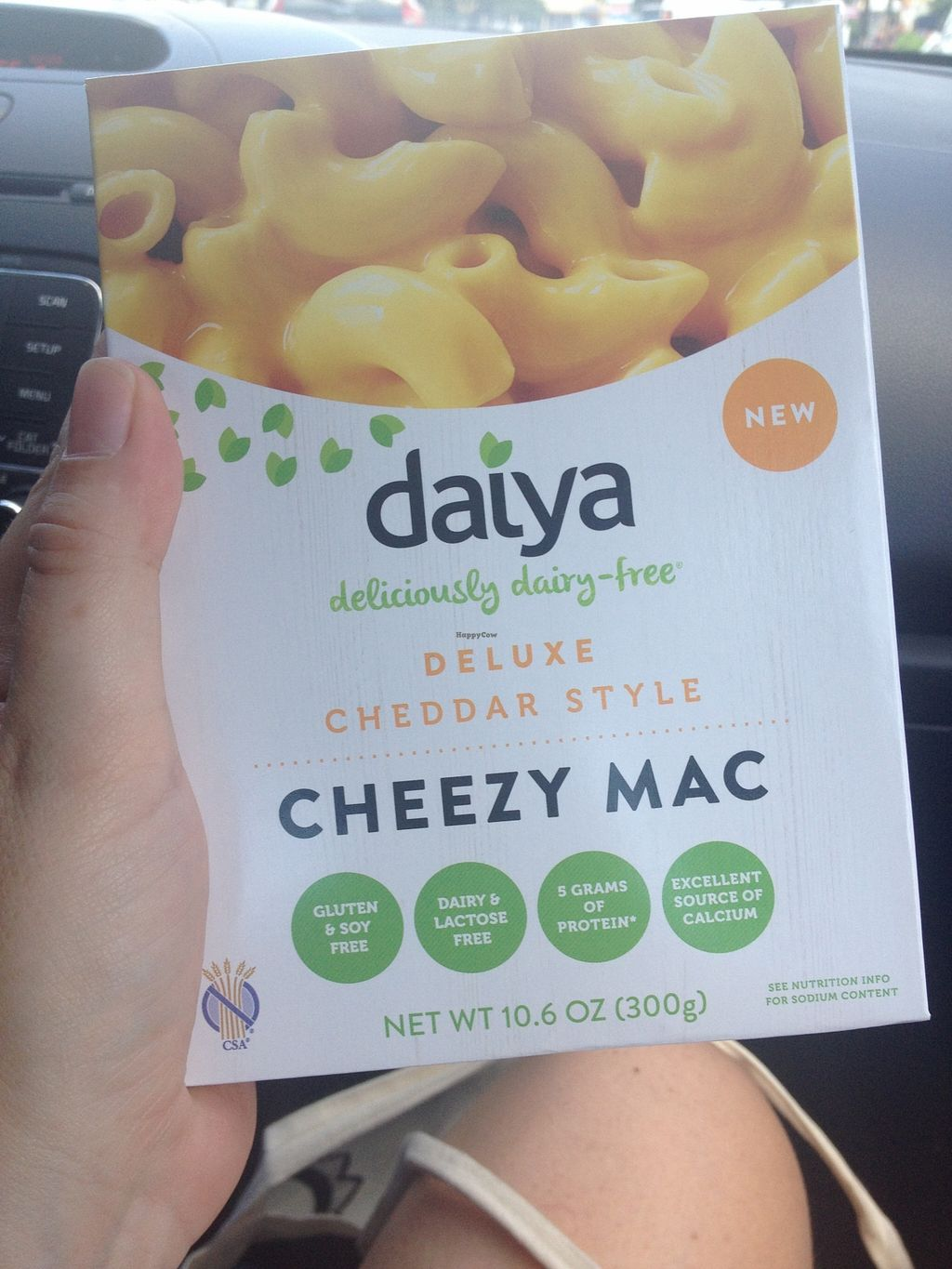 """Photo of Rabbit Food Grocery  by <a href=""""/members/profile/jojoinbrighton"""">jojoinbrighton</a> <br/>New! Vegan Daiya Boxed Mac & Cheese <br/> August 31, 2015  - <a href='/contact/abuse/image/55571/115935'>Report</a>"""