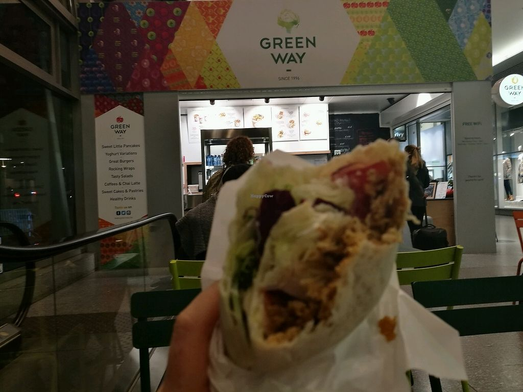 """Photo of Greenway - St Gilles  by <a href=""""/members/profile/betileti"""">betileti</a> <br/>Vegan kebab wrap <br/> November 6, 2017  - <a href='/contact/abuse/image/55591/322593'>Report</a>"""