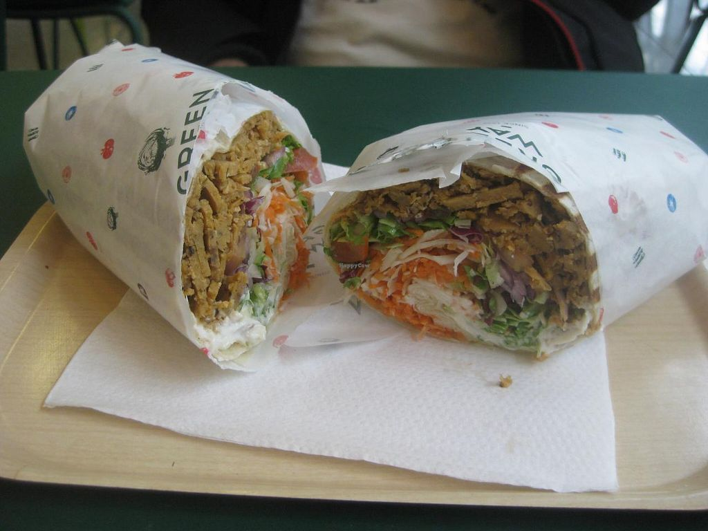 """Photo of Greenway - St Gilles  by <a href=""""/members/profile/jennyc32"""">jennyc32</a> <br/>Kebab wrap <br/> April 15, 2015  - <a href='/contact/abuse/image/55591/99155'>Report</a>"""