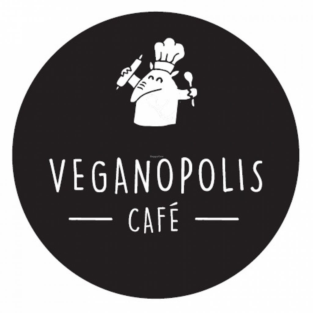Photo of Veganopolis Cafe  by Navegante <br/>Logo, Jan 2016 <br/> January 27, 2016  - <a href='/contact/abuse/image/55614/133929'>Report</a>
