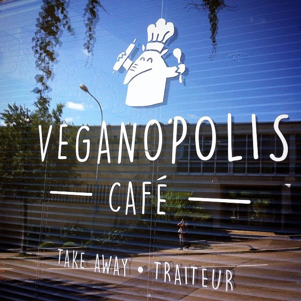 "Photo of Veganopolis Cafe  by <a href=""/members/profile/hitomiie"">hitomiie</a> <br/>La vitrine <br/> January 28, 2016  - <a href='/contact/abuse/image/55614/133964'>Report</a>"