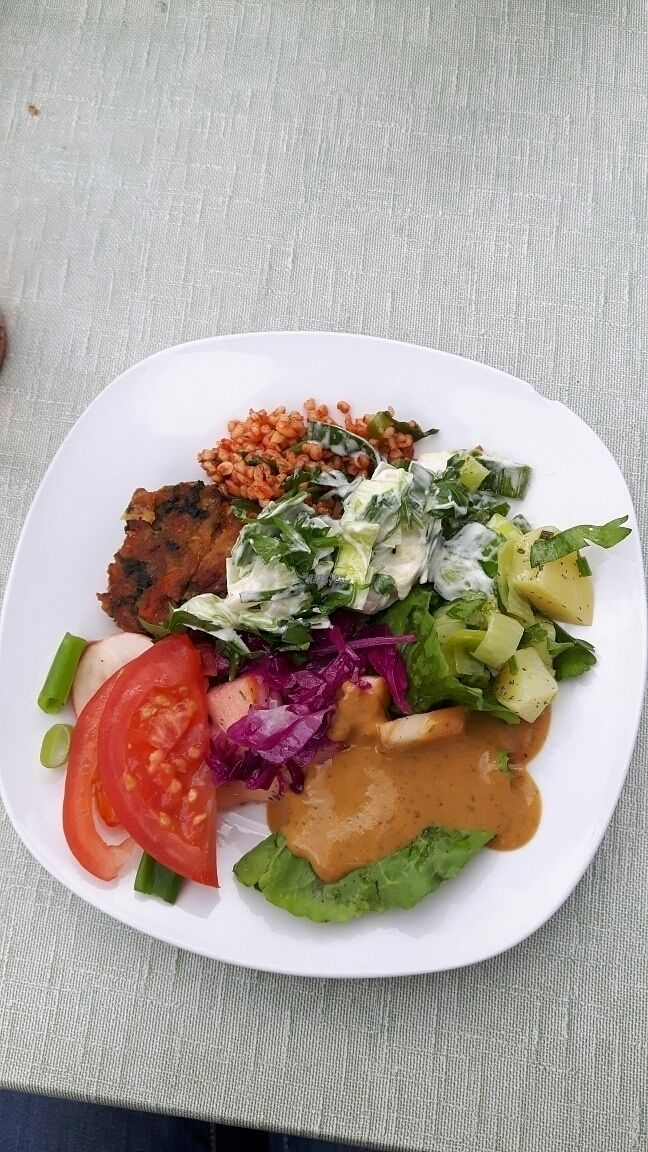 """Photo of Blumenhotel Restaurant  by <a href=""""/members/profile/Yilla"""">Yilla</a> <br/>salad from salad bar <br/> September 29, 2016  - <a href='/contact/abuse/image/55695/178525'>Report</a>"""