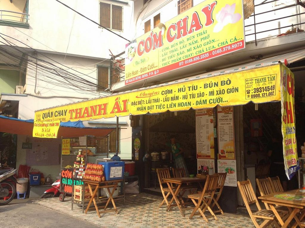 """Photo of CLOSED: Thanh Ai  by <a href=""""/members/profile/jojoinbrighton"""">jojoinbrighton</a> <br/>Quan 85 - I couldn't spot the restaurant name anywhere outside but this is what was at the Quan 85 map location!  <br/> May 3, 2015  - <a href='/contact/abuse/image/55703/101048'>Report</a>"""