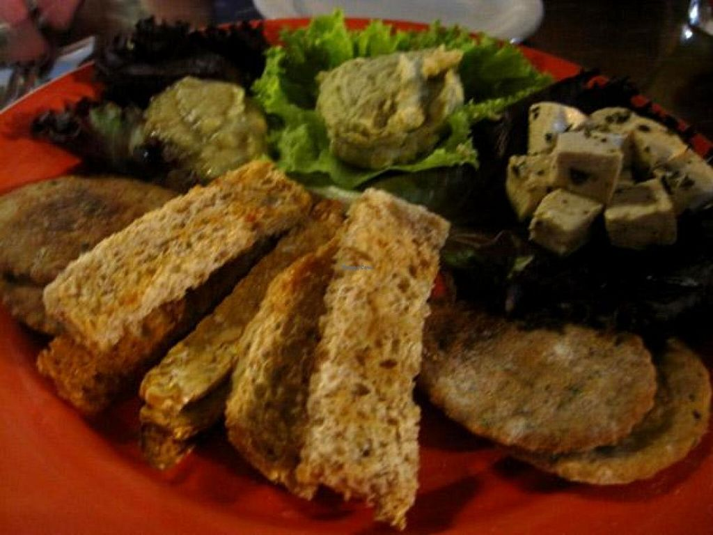 """Photo of Vegetariano Social Clube  by <a href=""""/members/profile/Babette"""">Babette</a> <br/>You get to taste different things, but the presentation is definitely lacking <br/> October 22, 2014  - <a href='/contact/abuse/image/5570/83688'>Report</a>"""