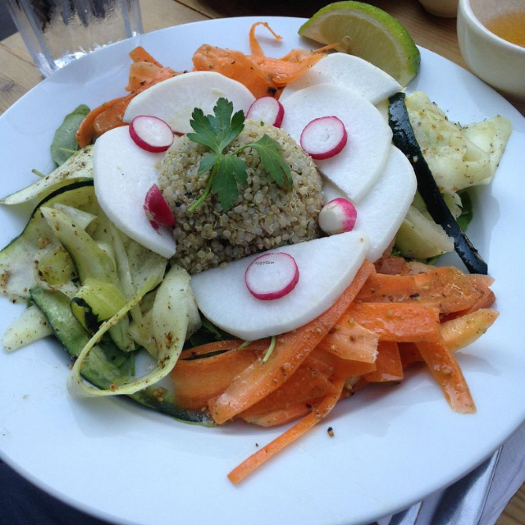 """Photo of Le Pain Quotidien - Bretagne  by <a href=""""/members/profile/daisymaysipes"""">daisymaysipes</a> <br/>detox salad, yum! <br/> June 6, 2015  - <a href='/contact/abuse/image/55714/104951'>Report</a>"""