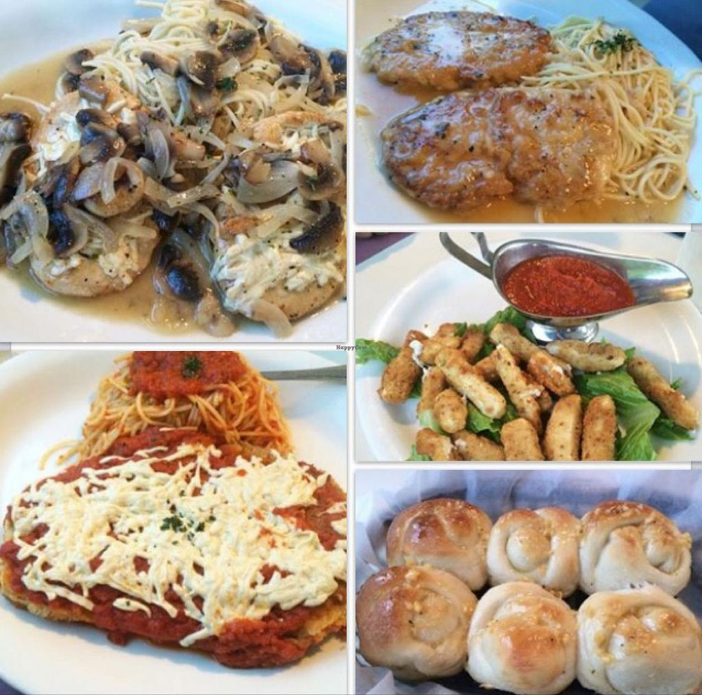 """Photo of Vito's Pizza and Ristorante  by <a href=""""/members/profile/BiancaVegana"""">BiancaVegana</a> <br/>all so delicious!!  <br/> July 20, 2015  - <a href='/contact/abuse/image/55724/110054'>Report</a>"""