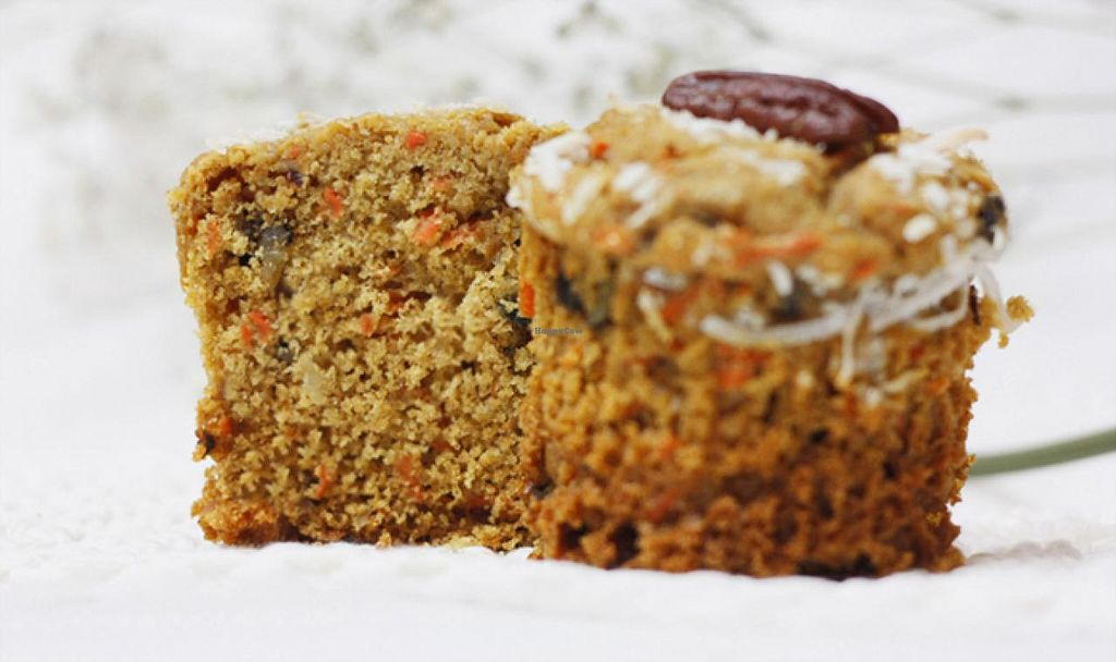 """Photo of Guilt Free Bakery  by <a href=""""/members/profile/Lisa%20Lee"""">Lisa Lee</a> <br/>whole-wheat carrot muffin **sugar-free, dairy-free, egg-free, butter-free, preservative-free  <br/> February 17, 2015  - <a href='/contact/abuse/image/55734/93415'>Report</a>"""