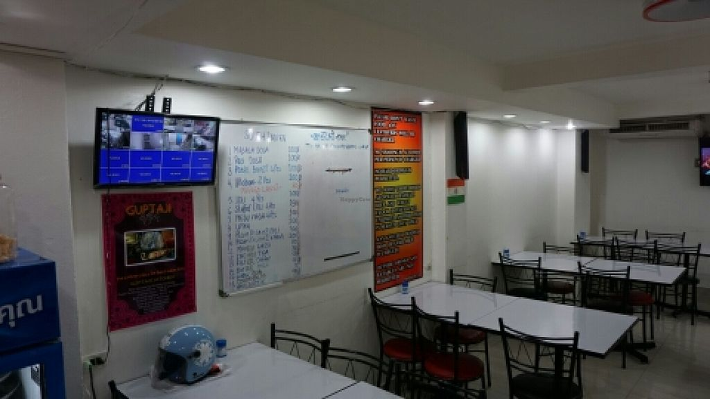 """Photo of Guptaji Ki Kitchen  by <a href=""""/members/profile/samden"""">samden</a> <br/>The menu and some house rules <br/> December 29, 2015  - <a href='/contact/abuse/image/55747/130284'>Report</a>"""
