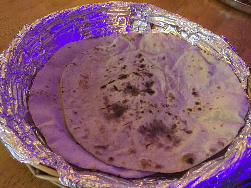"""Photo of Guptaji Ki Kitchen  by <a href=""""/members/profile/SusanRoberts"""">SusanRoberts</a> <br/>Roti, which comes with thali set (all you can eat) <br/> February 17, 2018  - <a href='/contact/abuse/image/55747/360308'>Report</a>"""