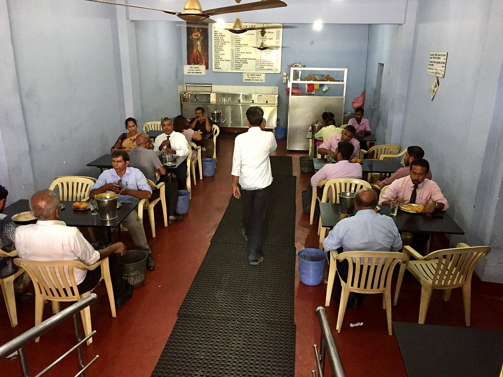 """Photo of Indo Ceylon Cafe - Dosa King  by <a href=""""/members/profile/peterstuckings"""">peterstuckings</a> <br/>Interior downstairs <br/> February 14, 2018  - <a href='/contact/abuse/image/55788/359131'>Report</a>"""