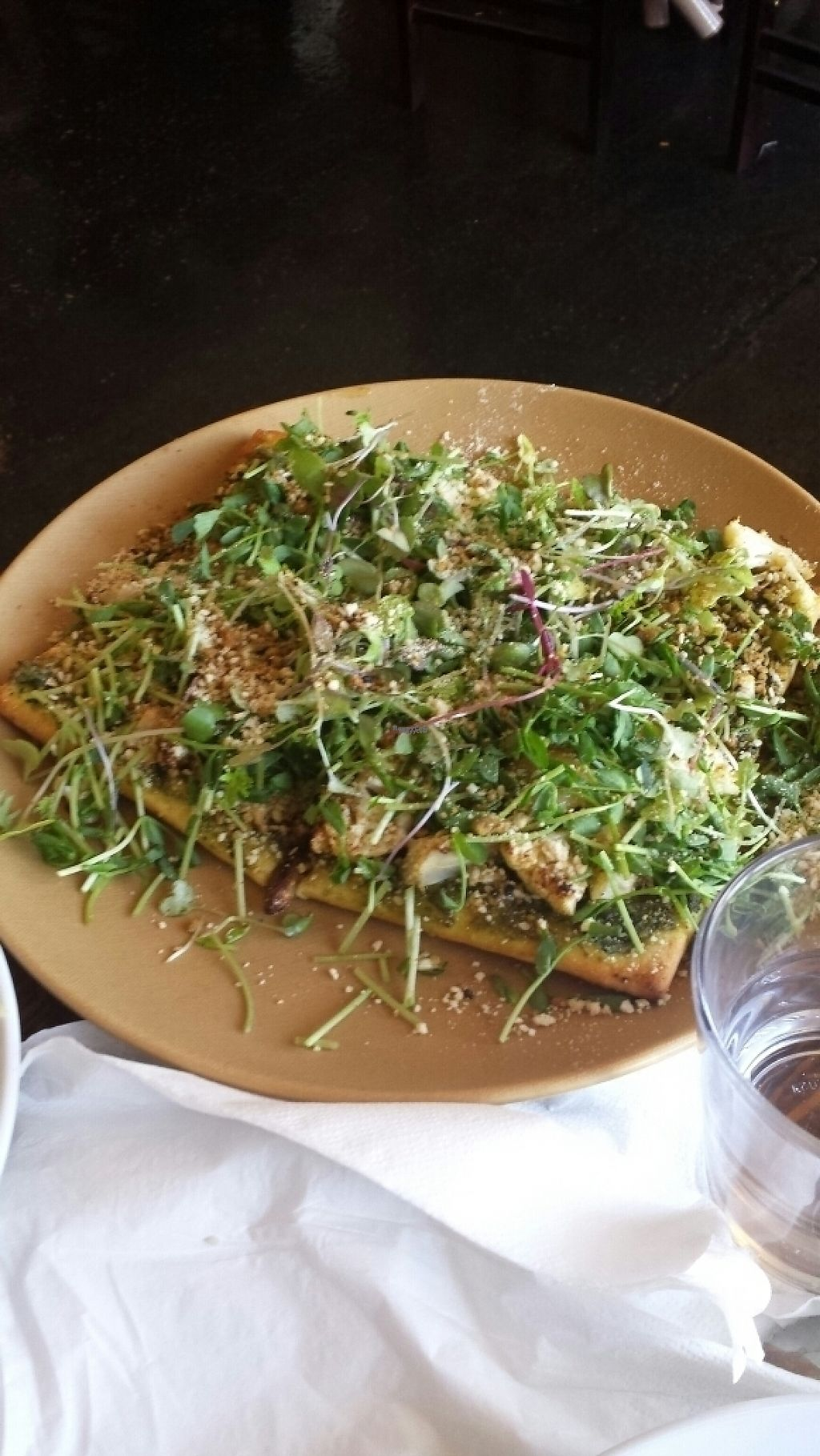 """Photo of Fruits and Roots  by <a href=""""/members/profile/drubot"""">drubot</a> <br/>Cauliflower and garlic flatbread  <br/> February 9, 2017  - <a href='/contact/abuse/image/55794/224628'>Report</a>"""