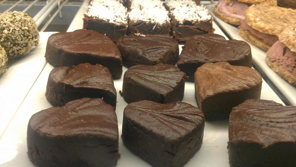 """Photo of Eternal Abundance Organic Market & Cafe  by <a href=""""/members/profile/kenvegan"""">kenvegan</a> <br/>Vegan Chocolate! <br/> August 10, 2014  - <a href='/contact/abuse/image/5579/76497'>Report</a>"""