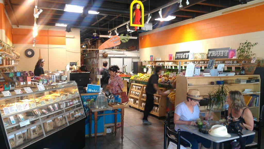 "Photo of Eternal Abundance Organic Market & Cafe  by <a href=""/members/profile/kenvegan"">kenvegan</a> <br/>Inside Eternal Abundance <br/> August 10, 2014  - <a href='/contact/abuse/image/5579/76503'>Report</a>"