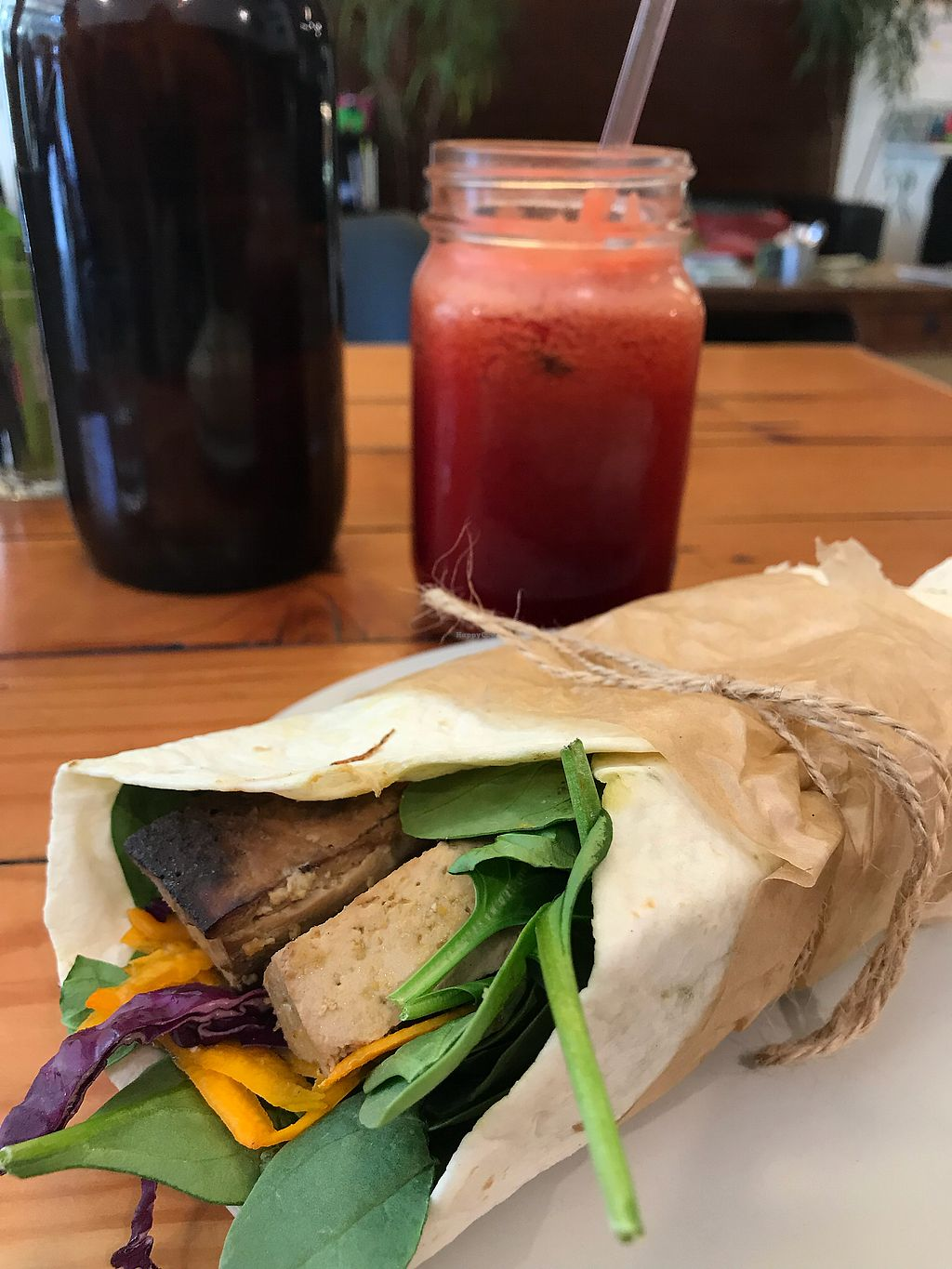 """Photo of Waratah Organics  by <a href=""""/members/profile/InHerImagePhoto"""">InHerImagePhoto</a> <br/>Teriyaki wrap!  <br/> April 11, 2018  - <a href='/contact/abuse/image/55802/383642'>Report</a>"""