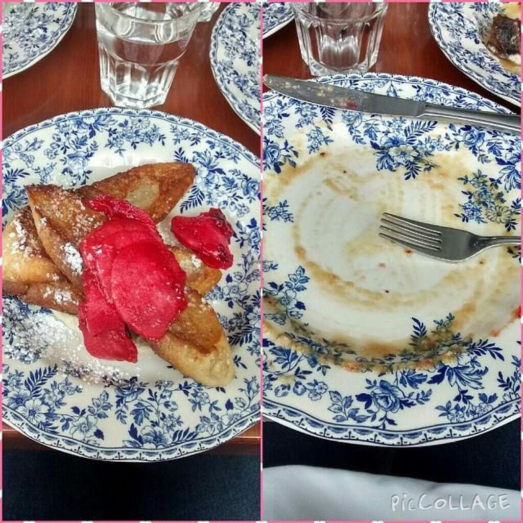 """Photo of EDNA  by <a href=""""/members/profile/QuothTheRaven"""">QuothTheRaven</a> <br/>French toast before and after.  <br/> February 22, 2015  - <a href='/contact/abuse/image/55839/93841'>Report</a>"""