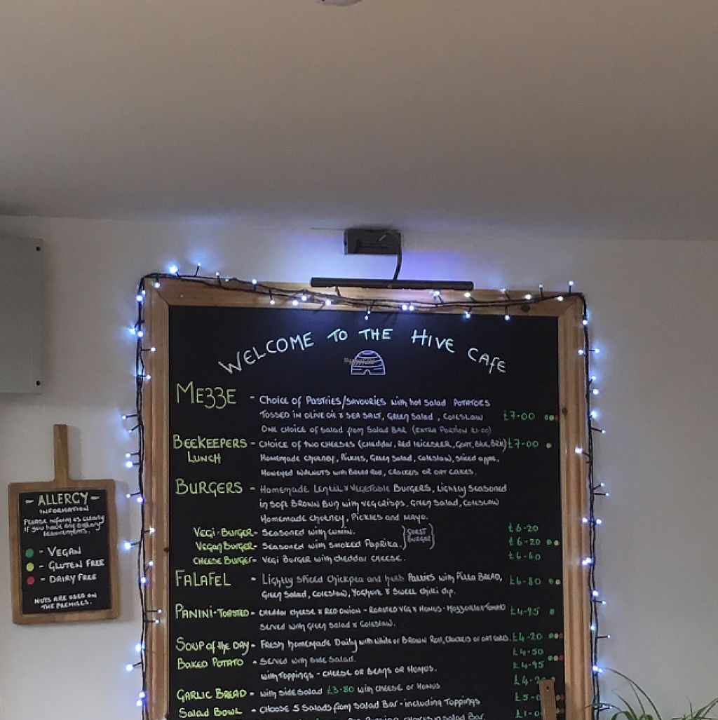 """Photo of The HiVe Cafe  by <a href=""""/members/profile/Alisonb"""">Alisonb</a> <br/>good choice <br/> February 21, 2017  - <a href='/contact/abuse/image/55854/228770'>Report</a>"""