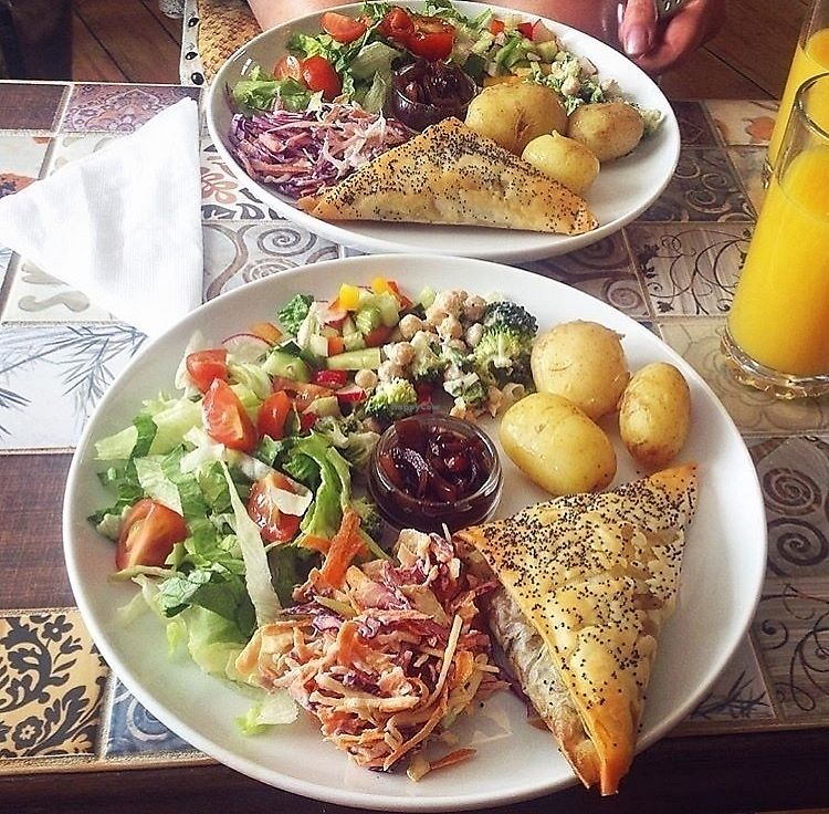 """Photo of The HiVe Cafe  by <a href=""""/members/profile/123emily"""">123emily</a> <br/>Delicious vegan mezze  <br/> March 18, 2018  - <a href='/contact/abuse/image/55854/372390'>Report</a>"""