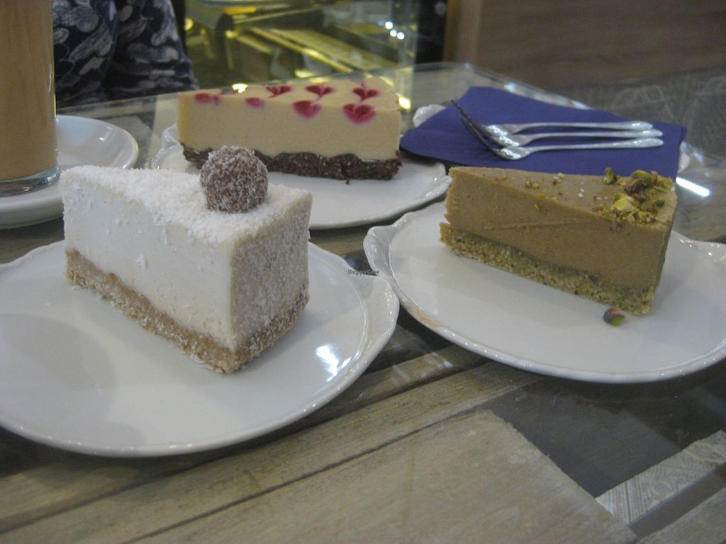 """Photo of Sweet Secret of Raw  by <a href=""""/members/profile/jennyc32"""">jennyc32</a> <br/>Cakes (raffaelo at the front, white chocolate and raspberry at the back) <br/> June 18, 2016  - <a href='/contact/abuse/image/55868/154651'>Report</a>"""