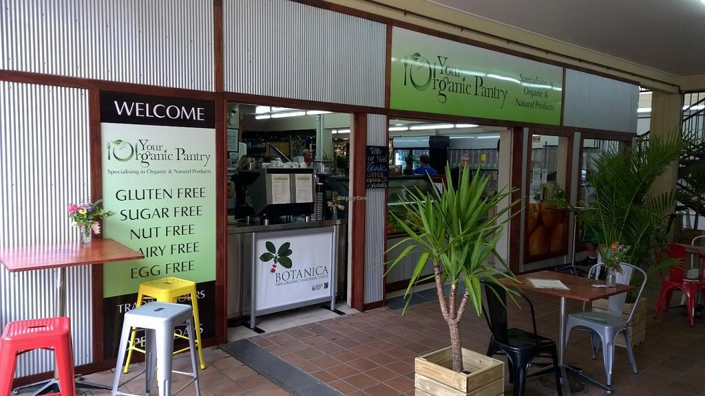 """Photo of Your Organic Pantry  by <a href=""""/members/profile/ChelsEvo"""">ChelsEvo</a> <br/>Your Organic Pantry opens to the top arcade in James St.  There is plenty of outdoor seating to enjoy your snack or meal <br/> February 24, 2015  - <a href='/contact/abuse/image/55892/94067'>Report</a>"""