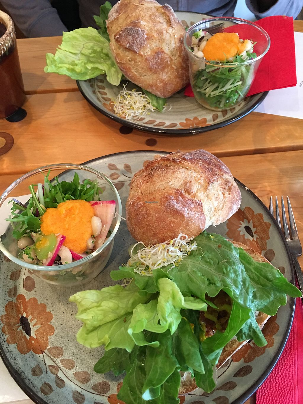 """Photo of Phalam Cafe  by <a href=""""/members/profile/ZoeMackenzie"""">ZoeMackenzie</a> <br/>Delicious lentil burgers <br/> December 16, 2017  - <a href='/contact/abuse/image/55894/336075'>Report</a>"""