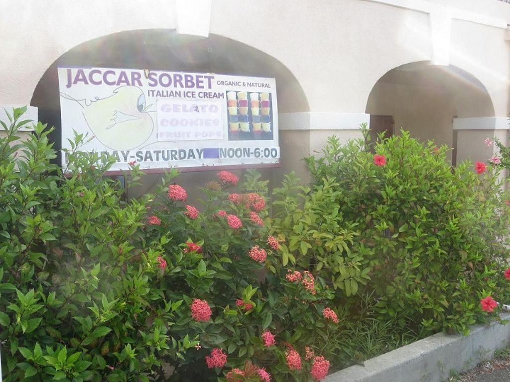 Photo of CLOSED: Jaccar Organic and Natural Sorbet  by Jaccar Sorbet <br/>Entrance <br/> February 23, 2015  - <a href='/contact/abuse/image/55907/93920'>Report</a>