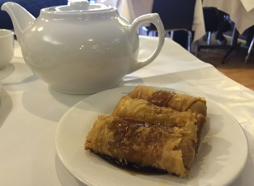 """Photo of Vegie Hut  by <a href=""""/members/profile/karlaess"""">karlaess</a> <br/>Ru-Yi Bean Roll (Yum cha) <br/> August 27, 2015  - <a href='/contact/abuse/image/5596/115344'>Report</a>"""