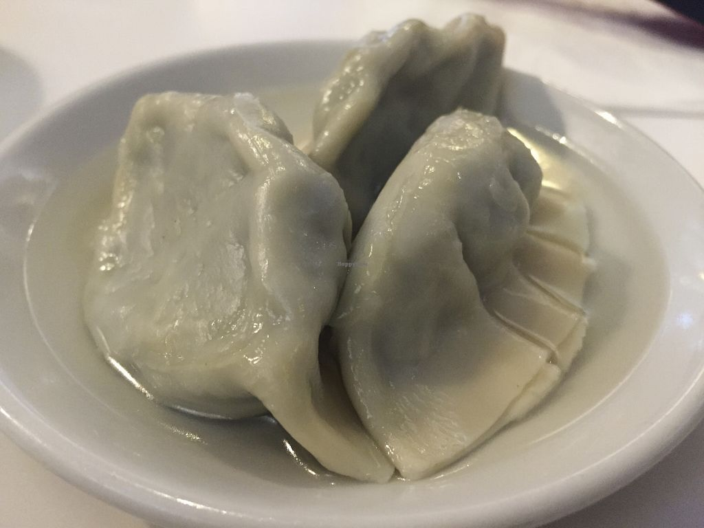 """Photo of Vegie Hut  by <a href=""""/members/profile/karlaess"""">karlaess</a> <br/>Spinach dumpling (Yum cha) <br/> August 27, 2015  - <a href='/contact/abuse/image/5596/115345'>Report</a>"""