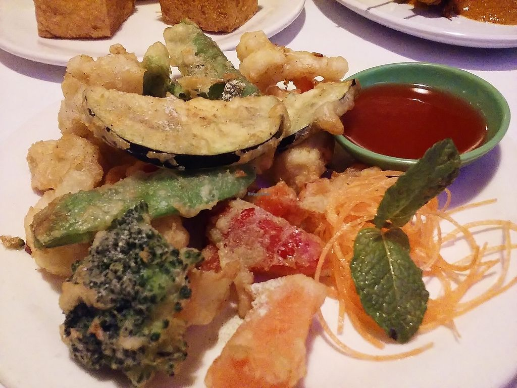 """Photo of Vegie Hut  by <a href=""""/members/profile/verbosity"""">verbosity</a> <br/>Tempura vegetables <br/> October 30, 2015  - <a href='/contact/abuse/image/5596/123257'>Report</a>"""