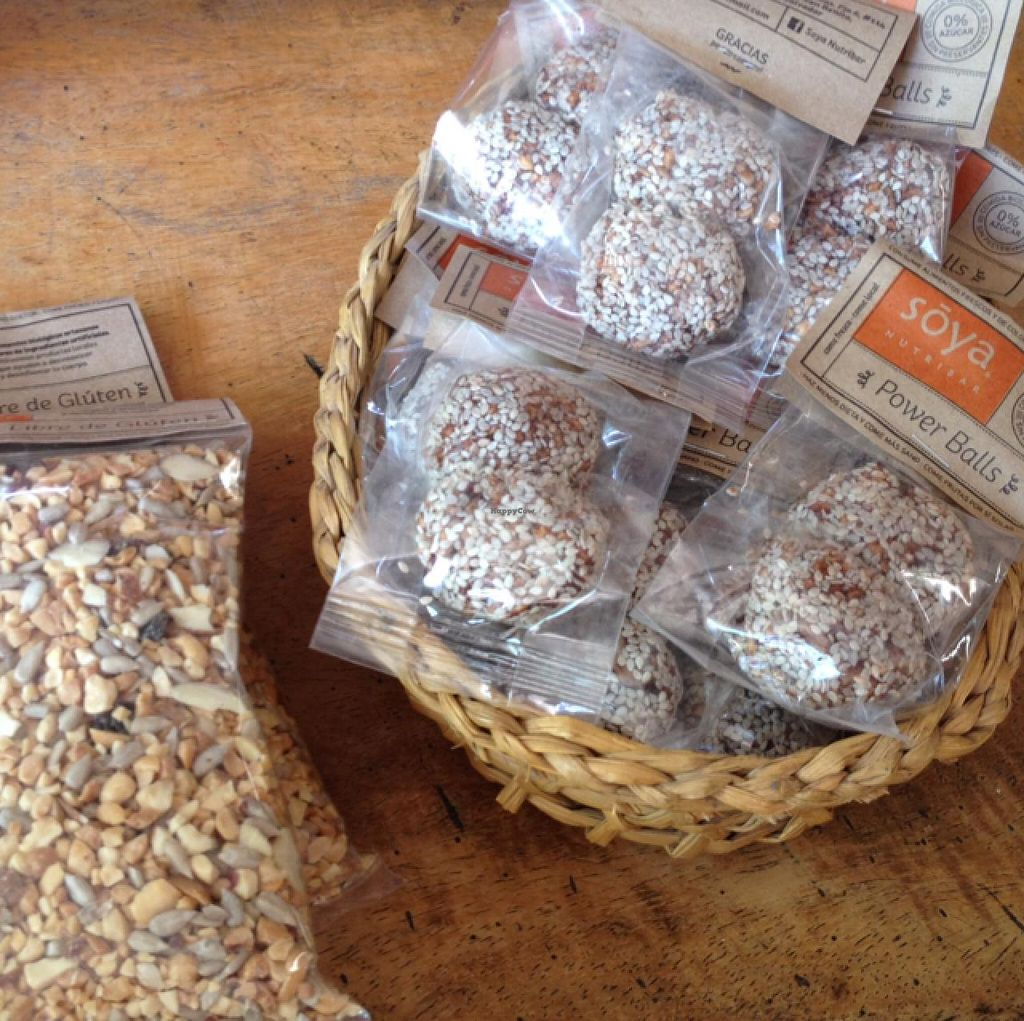 "Photo of Soya Nutribar  by <a href=""/members/profile/MO.MARIEL"">MO.MARIEL</a> <br/>gluten-free granola and Power Balls <br/> February 25, 2015  - <a href='/contact/abuse/image/55994/94090'>Report</a>"