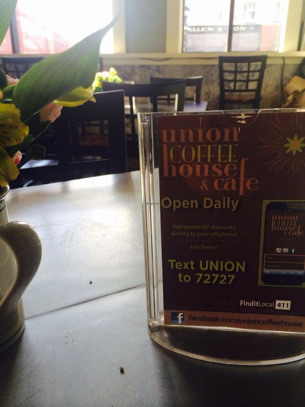 "Photo of Union Coffee House and Cafe  by <a href=""/members/profile/community"">community</a> <br/>Union Coffee House and Cafe <br/> February 25, 2015  - <a href='/contact/abuse/image/56011/94103'>Report</a>"